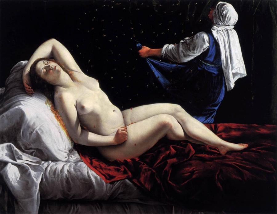 gentileschi-danae-1612