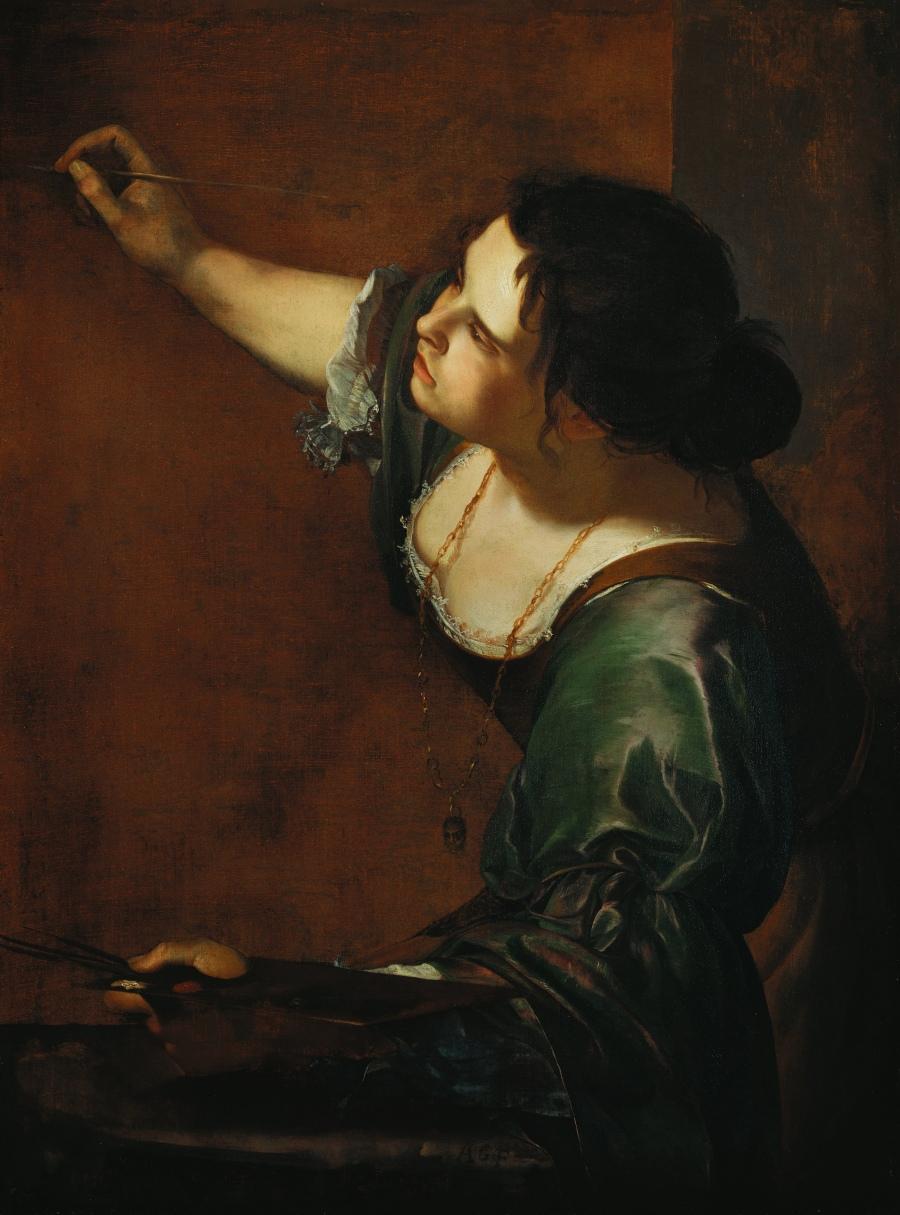gentileschiSelf-portrait_as_the_Allegory_of_Painting_(La_Pittura)_-_Artemisia_Gentileschi