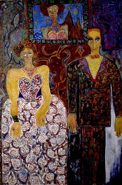 niki de saint phalle family portrait