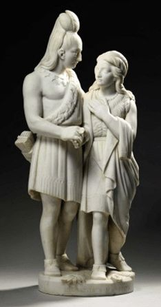 Le Mariage d'Hiawatha et Minnehaha, 1874