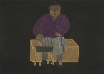 Composition (Seated Woman With Kudlik), 2004