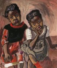Deux Filles, Spanish Harlem, 1959