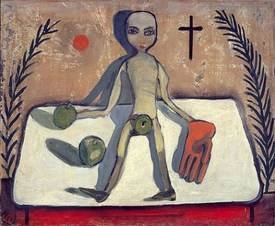 Symboles (poupée et pomme), 1932