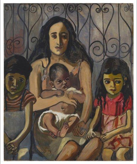 Famille Espagnole, 1943