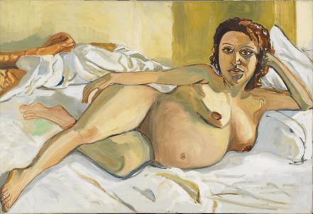 Maria enceinte, 1964