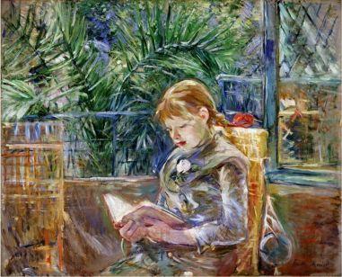 jeune fille lisant (la lecture), 1888