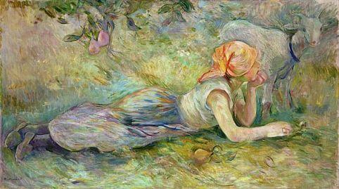 bergère couchée, 1891