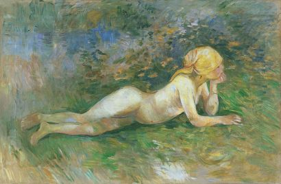 Bergère nue couchée, 1891