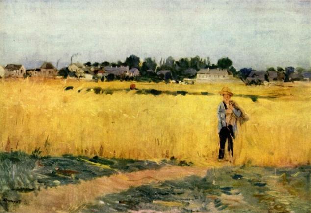 Dans les blés, 1875