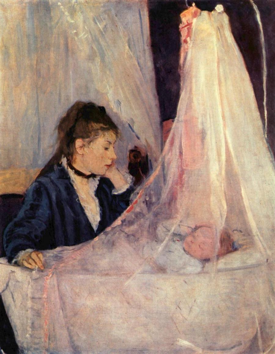 Berthe_Morisot_Le-berceau-1873